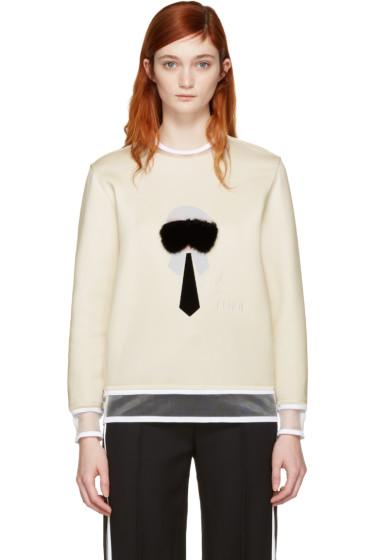 Fendi - White Karlito Pullover
