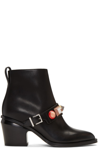 Fendi - Black Rainbow Boots