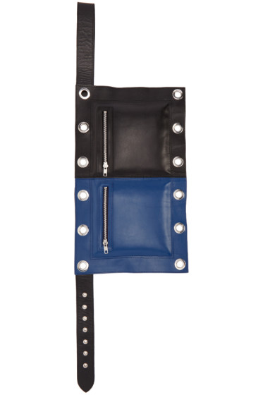 Craig Green - Black & Blue Flag Pouch