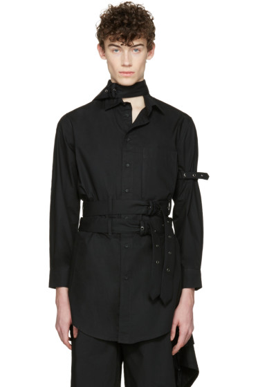 Craig Green - Black Cotton Long Shirt