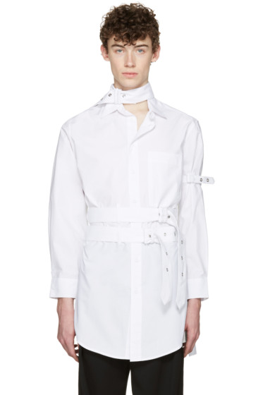 Craig Green - White Cotton Long Shirt