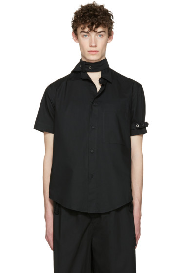 Craig Green - Black Cotton Short Sleeve Shirt