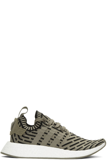 adidas Originals - Taupe NMD R2 PK Sneakers