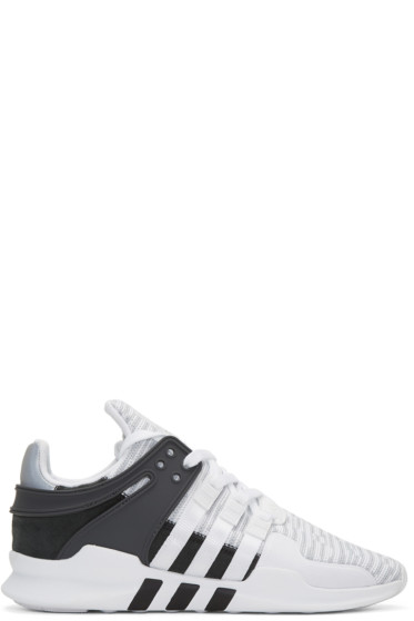 adidas Originals - White EQT Support ADV Sneakers