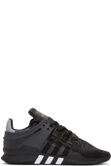 adidas Originals - Black EQT Support ADV Sneakers