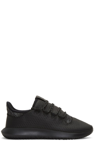 adidas Originals - Black Tubular Shadow Sneakers