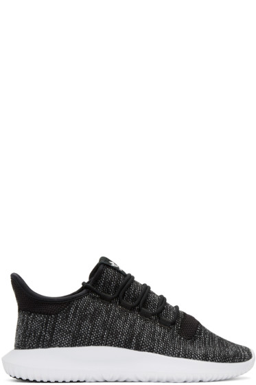 adidas Originals - Black Tubular Shadow Knit Sneakers