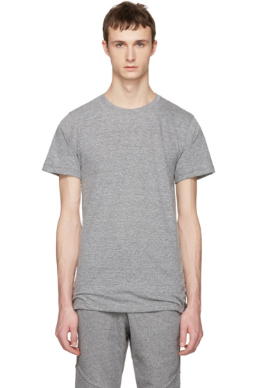 John Elliott - Grey Crew T-Shirt