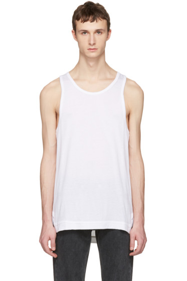 John Elliott - White Mercer Tank