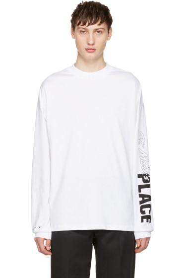 Alyx - White fragment Edition Custom Graphic T-Shirt
