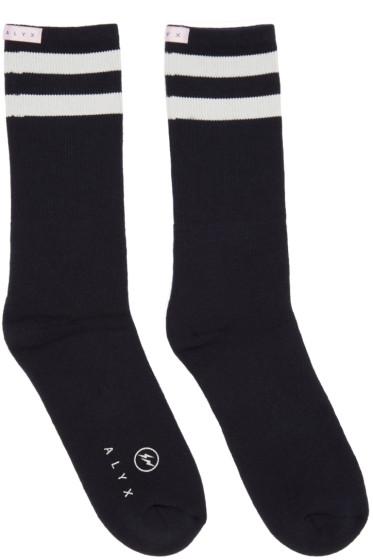 Alyx - Navy fragment Edition Socks