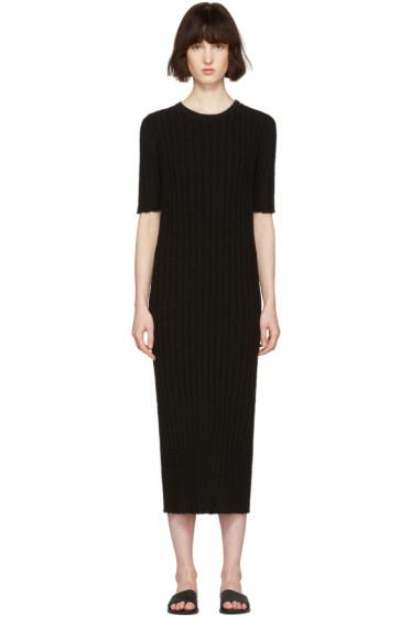 Nehera - Black Ribbed Dress
