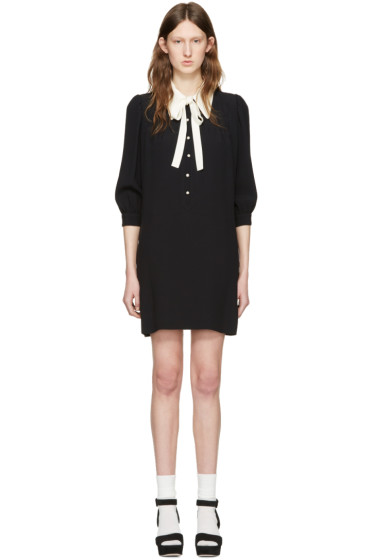 Miu Miu - Black Collared Dress