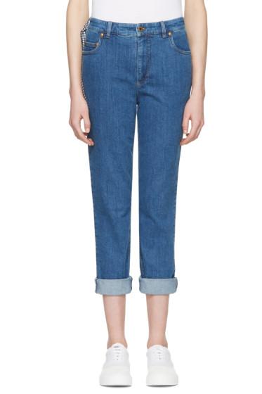 Miu Miu - Blue Boyfriend Jeans