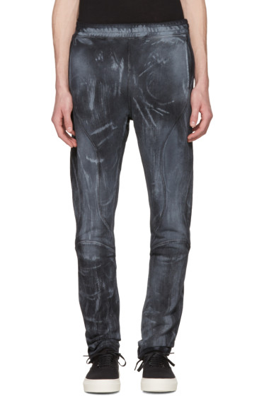 Faith Connexion - Black Bleached Urban Jogger Lounge Pants