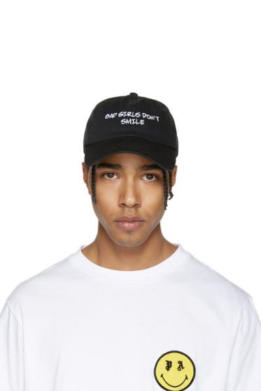 Nasaseasons - Black 'Bad Girls Don't Smile' Cap