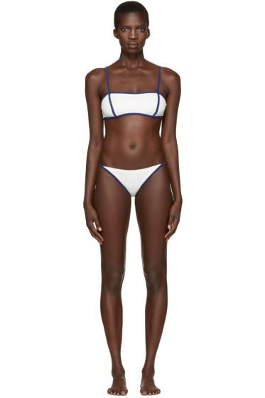 Solid & Striped - Off-White The Natalie Bikini