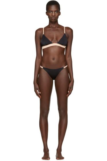 Solid & Striped - Black The Morgan Bikini