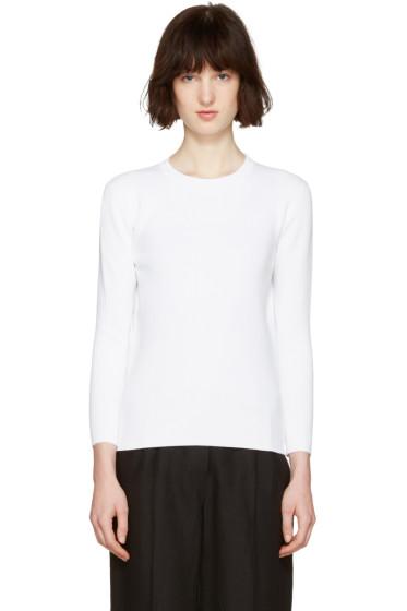 Moderne - White Portrait Pullover