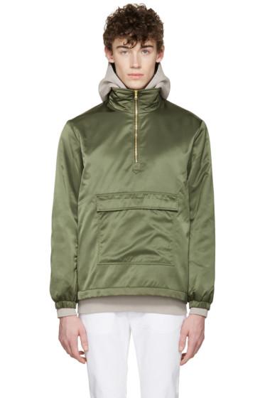 Aimé Leon Dore - SSENSE Exclusive Green MA-1 Nylon Jacket