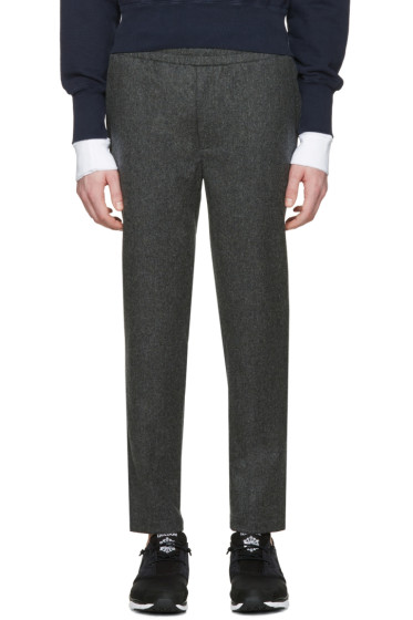 Aimé Leon Dore - SSENSE Exclusive Grey Wool Trousers