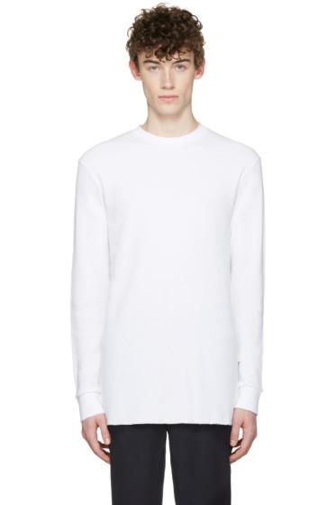 Aimé Leon Dore - SSENSE Exclusive White Long Sleeve T-Shirt