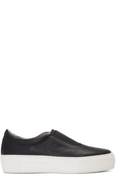 Primury - Black Leather Basal+ Sneakers