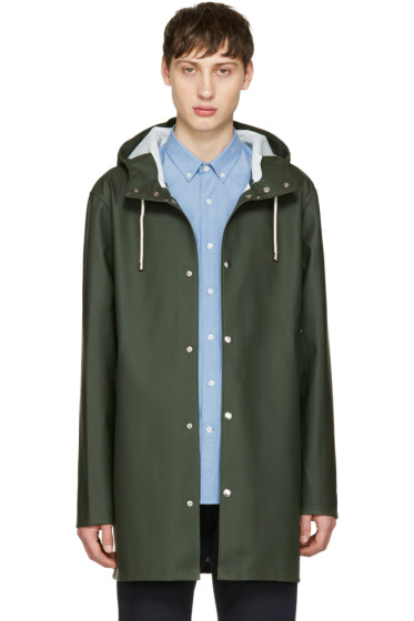 Stutterheim - Green Stockholm Raincoat