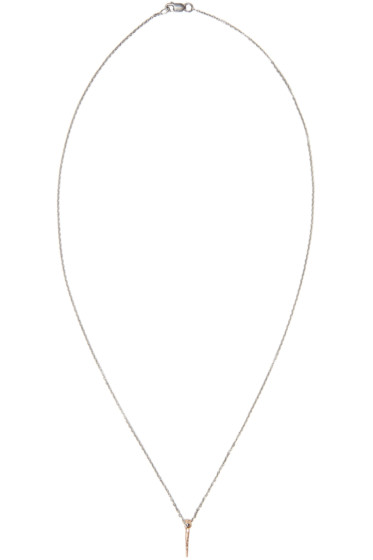 Pearls Before Swine - Rose Gold Mini Thorn Pendant