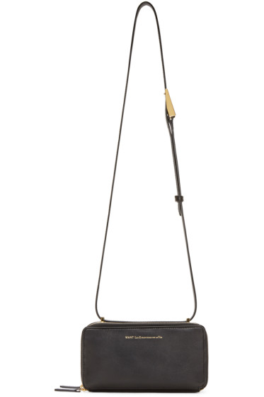 Want Les Essentiels - Black Demiranda Shoulder Bag