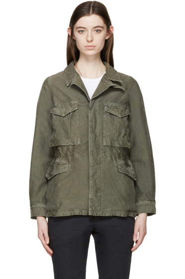 Visvim - Green Chino Achse Jacket