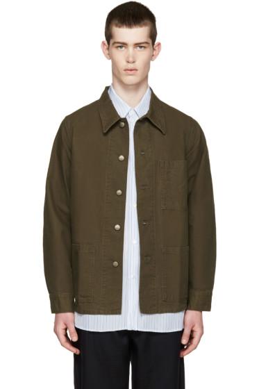 Visvim - Green Military Jacket