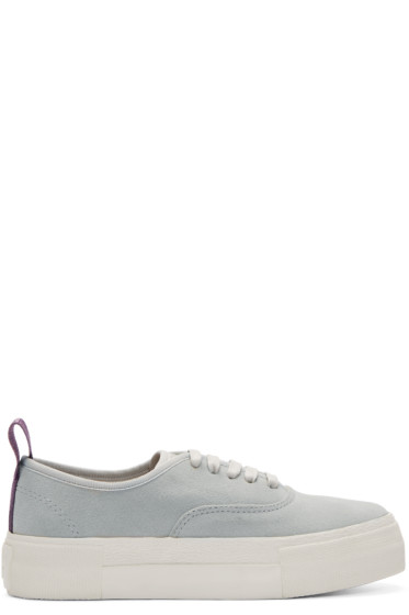 Eytys - Grey Suede Mother Sneakers
