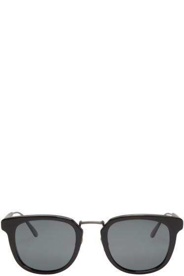 Bottega Veneta - Black Square Retro Sunglasses