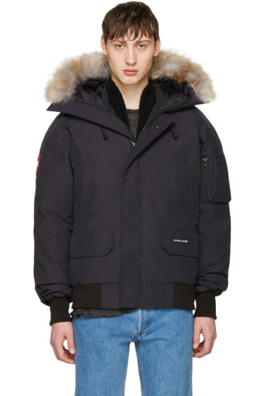 Canada Goose - Navy Down Chilliwack Bomber Jacket