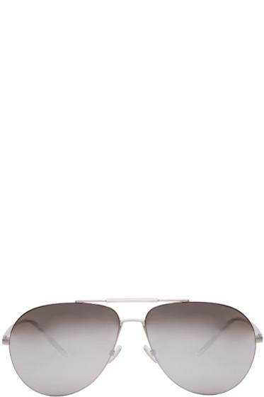 Dior Homme - Silver Dior 0195S Aviator Sunglasses