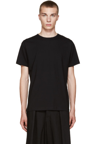 Comme des Garçons Shirt - Black Basic T-Shirt