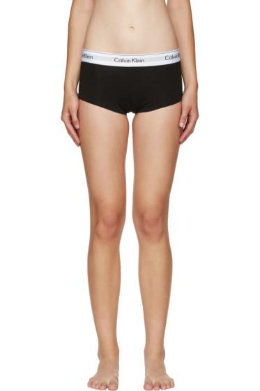 Calvin Klein Underwear - Black Modern Boy Shorts
