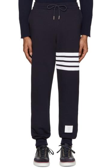 Thom Browne - Navy Classic Lounge Pants