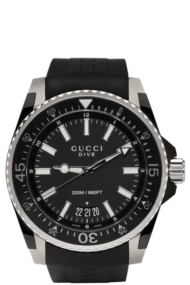 Gucci - Black Dive Watch
