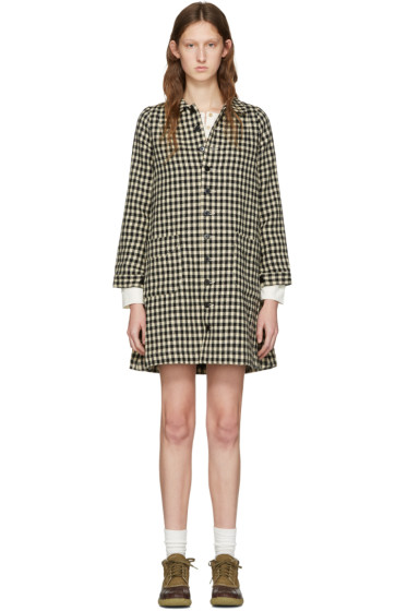 Visvim - Black Check Impressionist Dress