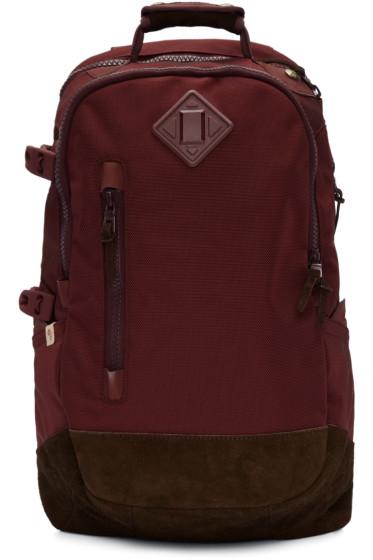 Visvim - Burgundy Ballistic 20L Backpack
