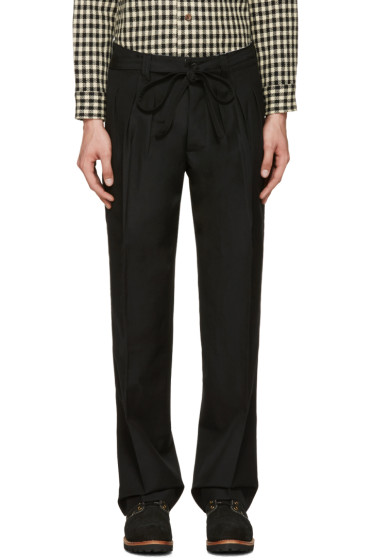 Visvim - Black Hakama Trousers
