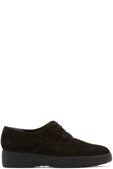 Robert Clergerie - Black Suede Feydol Derbys