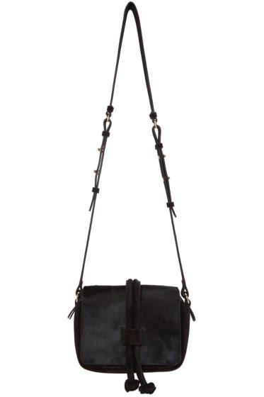 Isabel Marant - Black Calf-Hair Bliss Bag