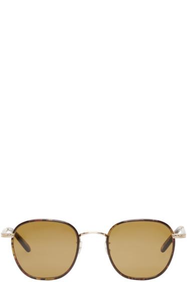 Garrett Leight - Tortoiseshell Grant Sunglasses