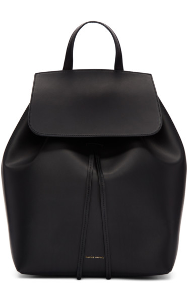 Mansur Gavriel - Black Leather Backpack