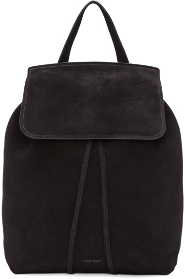 Mansur Gavriel - Black Suede Backpack