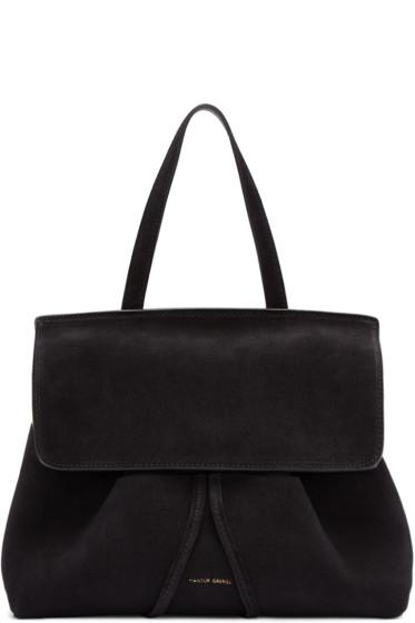Mansur Gavriel - Black Suede Mini Lady Bag