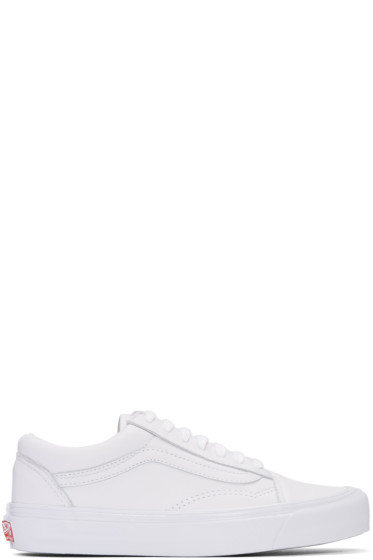 Vans - White OG Old Skool LX Sneakers